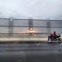 Photo taken at Gateway Motorway by Katie H. on 11/11/2013