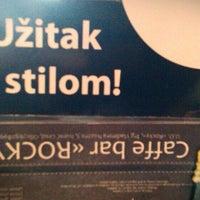 Photo taken at Caffe bar Rocky by Siniša V. on 3/11/2014