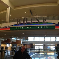 Photo taken at Boise Airport (BOI) by Alan N. on 1/20/2013