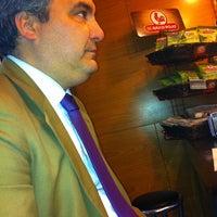 Photo taken at Cafe Marabu by Ángel D. on 2/28/2013