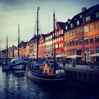 Photo taken at Canal Tours Copenhagen by Rawan D. on 3/28/2013
