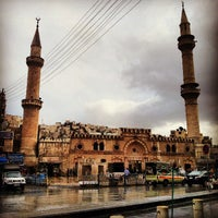Photo taken at Grand Husseini Mosque by Rawan D. on 4/23/2013