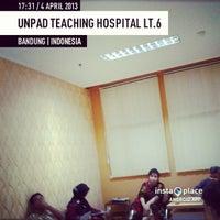 Photo taken at Unpad Teaching Hospital Lt.6 by Dian J. on 4/4/2013