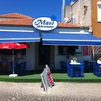 Photo taken at Mavi Restaurant by begüm s. on 8/8/2013