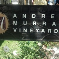 Photo taken at Andrew Murray Vineyards Tasting Room by Tischa C. on 4/27/2013