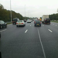 Photo taken at A12 (13, Nieuwerbrug) by Jos S. on 10/12/2012