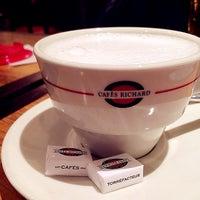 Photo taken at Cafés Richard by Yiiyun S. on 3/4/2014