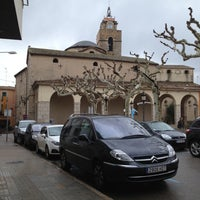 Photo taken at Plaça Farners by Cristina T. on 11/18/2012