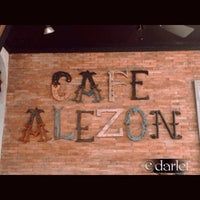 Photo taken at Cafe Alezon by Darlet Z. on 11/24/2013