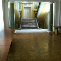 Photo taken at Centralna Biblioteka Rolnicza by Paweł D. on 1/27/2013