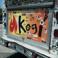Photo taken at Kogi BBQ Truck by Jara M. on 5/25/2013
