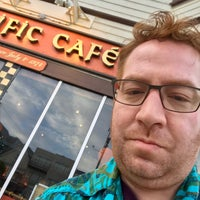 Photo taken at Pacific Cafe by Ben D. on 5/6/2017