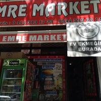 Photo taken at Emre Market by FIRAT ÇİNPOLAT on 6/4/2016