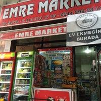 Photo taken at Emre Market by FIRAT ÇİNPOLAT on 6/2/2016