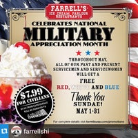 Photo taken at Farrell's Ice Cream Parlor & Restaurant by Pearlridge C. on 5/4/2015