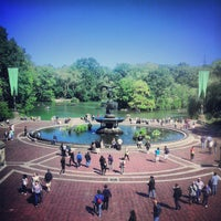Photo taken at Bethesda Terrace by Julio C. on 9/23/2013