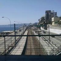 Photo taken at Metro Valparaiso - Estación Recreo by Pablo A. on 2/22/2015