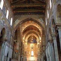 Photo taken at Duomo di Monreale by Bára S. on 7/27/2013