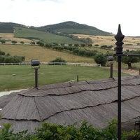 Photo taken at Hacienda El Rosalejo- Campo de Tiro by Elvira M. on 5/18/2013