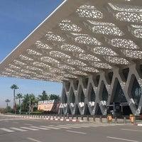 Photo taken at Marrakech Menara Airport (RAK) by Elvira M. on 10/7/2012