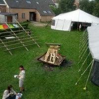 Photo taken at Scouts Sint-Bernadette by Jonatan M. on 9/21/2013