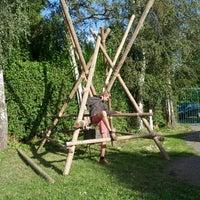 Photo taken at Scouts Sint-Bernadette by Jonatan M. on 9/16/2013