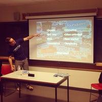 Photo taken at Olin Center, Tufts University by John B. on 9/24/2013
