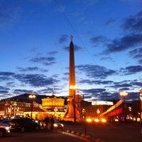 Снимок сделан в Площадь Восстания пользователем Pikalov 5/31/2013