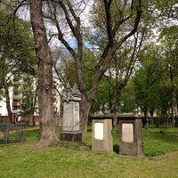 Photo taken at Alter Garnisonsfriedhof by Francis K. on 4/26/2015