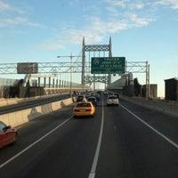 Photo taken at Robert F. Kennedy Bridge (Triborough Bridge) by Mauro M. on 1/19/2013
