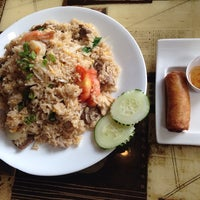 Photo taken at Thai Thai's by Dwayne S. on 5/16/2014