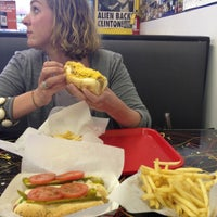 Photo taken at Mike's Chicago Hot Dogs by Christopher G. on 5/2/2013
