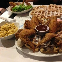 Photo taken at Dame's Chicken & Waffles by Jacoby P. on 1/25/2013