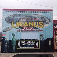 Photo taken at Uranus Gas by Mike S. on 2/15/2014