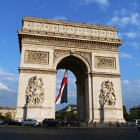 Photo taken at Arc de Triomphe by Doug M. on 10/11/2012