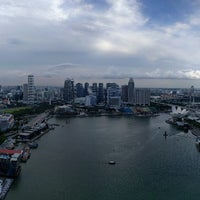 Photo taken at Marina Bay Financial Centre (MBFC) Tower 1 by Doug M. on 5/14/2017