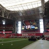 Photo taken at University of Phoenix Stadium by James R. on 9/30/2012