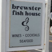 Photo taken at Brewster Fish House by Jacques A. on 11/9/2012