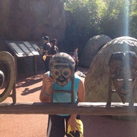 Photo taken at African Forest @ Houston Zoo by celli59 on 11/17/2012