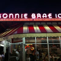 Photo taken at Bonnie Brae Ice Cream by Brianne K. on 4/1/2012