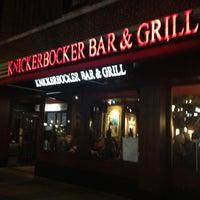 Photo taken at Knickerbocker Bar & Grill by Sharon L. on 4/8/2013