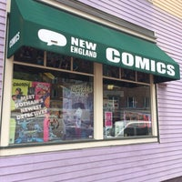 Photo taken at New England Comics by Marcio H. on 6/12/2015