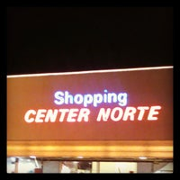 Photo taken at Shopping Center Norte by Glenda' A. on 5/27/2013