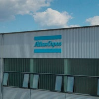 Photo taken at Atlas Copco by Jacob D. on 6/5/2013