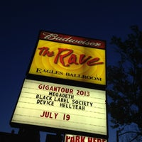 Photo taken at The Rave / Eagles Club by Ozzy on 7/20/2013