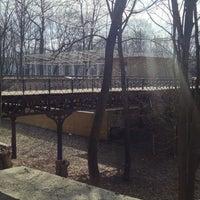Photo taken at Пішохідний міст через яр by Александр К. on 3/24/2014