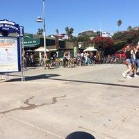 Photo taken at Sea Mist Skate & Bike Rentals by Samantha R. on 9/27/2014
