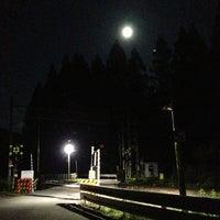 Photo taken at 奥羽本線 尾崎坂踏切 by u1o on 6/23/2013