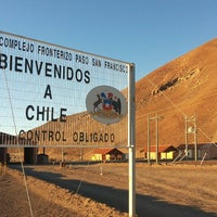 Photo taken at Control Fronterizo Paso Internacional San Francisco by Pablo R. on 2/12/2014