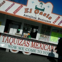 Photo taken at El Oasis Taco Truck by Cassondra M. on 11/1/2012